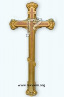 Крест пластиковый